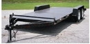Car Trailer Metal Deck