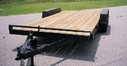 Car Trailer Wood Deck