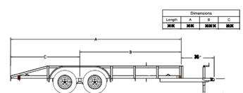 6690710?348 8x20 utility trailer plans northwest outdoors tandem axle utility trailer wiring diagram at soozxer.org