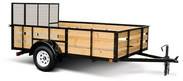 6' Wide Single Axle Trailer